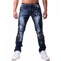 Jeansnet - Jeans tendance homme Jeans bleu Jnst025