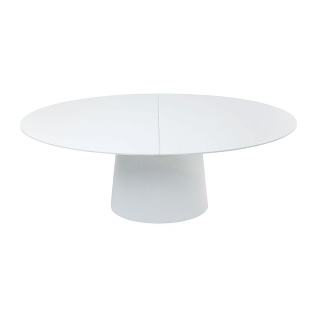 Karedesign Table à rallonges Benvenuto blanche Kare Design
