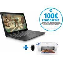 Pavilion Power 15-CB016NF - Noir + Souris sans fil X3000 + Imprimante Deskjet 2630