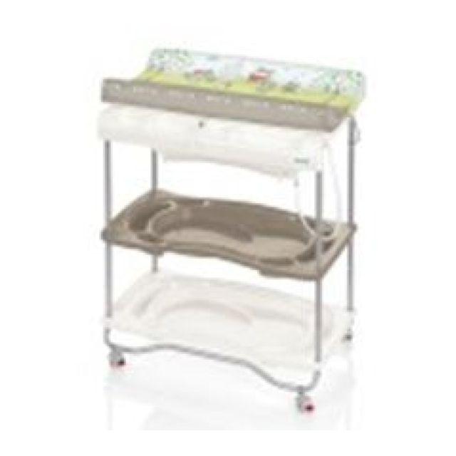 Brevi table langer b b atlantis taupe pas cher achat vente table langer rueducommerce - Table a langer brevi atlantis ...