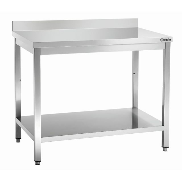 Bartscher Table travail avec dosseret 700, L1000