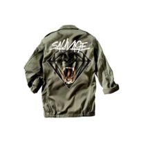 Magic custom - Sauvage - Veste militaire gorilla