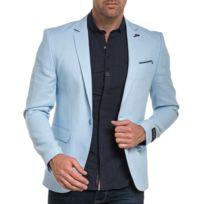 BLZ Jeans - Veste de costume bleu ciel