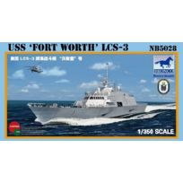 Bronco - Nb5028 1/350 Uss Fort Worth Lcs-3