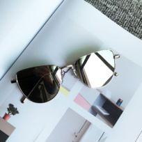 Lunettes de soleil New Style Fashion Uv400 Lunettes de polarisées  Personnalité Réseau Reds Dark Glasses Argent 35b91f929256
