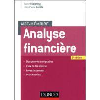 Dunod - aide-mémoire ; analyse financière 5e édition
