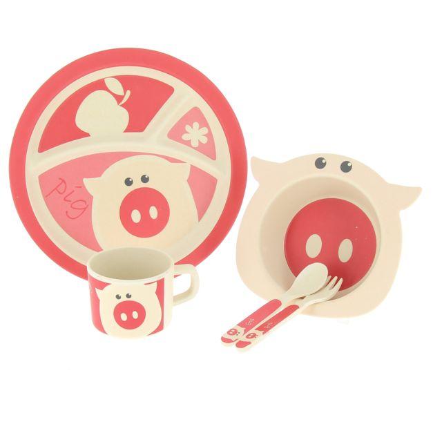 Autre Pack vaisselle enfant Pig