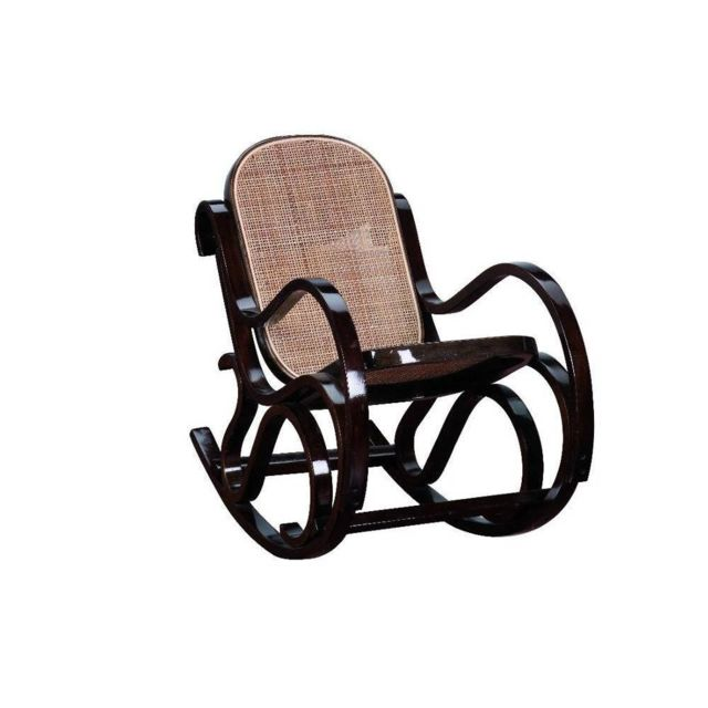 inside 75 rocking chair enfant franklin noyer marron pas cher achat vente fauteuil de. Black Bedroom Furniture Sets. Home Design Ideas