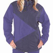 Sessions - Veste Ski Snow jacket Crosscheck Mini Stripe Purple
