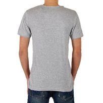 Eleven Paris - T-shirt Ligne 1 L1VSS Gris Chiné