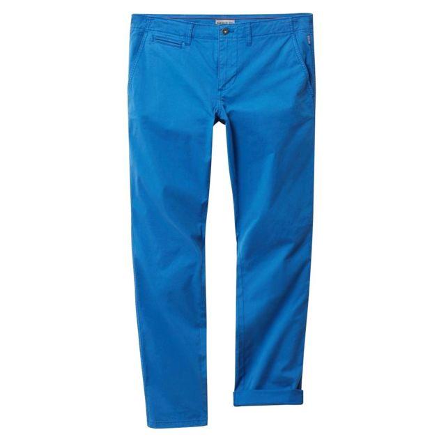 Napapijri - Pantalon chino Mana Bleu roi
