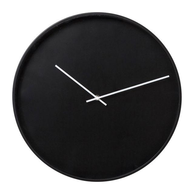 Karedesign Horloge murale Timeless noire 40cm Kare Design