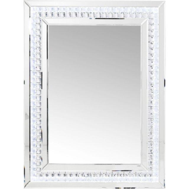 Karedesign Miroir Crystals Led 80x60cm Kare Design