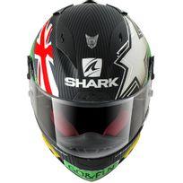 Shark - casque moto intégral Racing en Carbone Race-r Pro Carbon Redding Dgy noir blanc vert rouge Xl