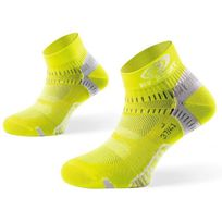 Bv Sport - Socquettes Light One Jaunes Chaussettes Running