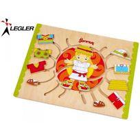 Legler - Puzzle de motricité en bois Lisa