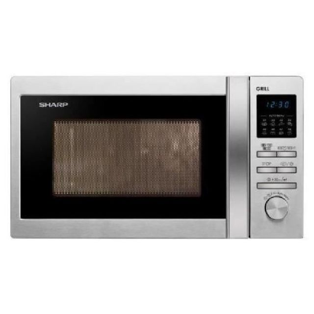 Sharp Four micro ondes Grill Inox R-622STWE