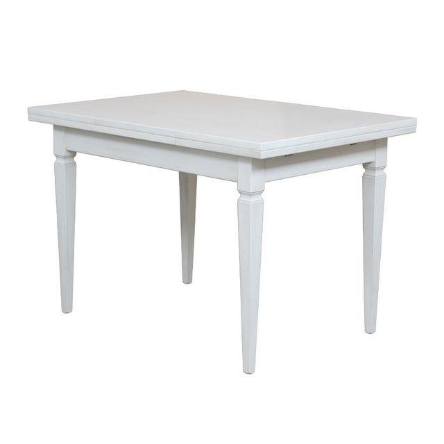 Artigiani Veneti Riuniti Table avec allonges laquée 120-200 cm