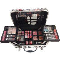 Gloss - Coffret cadeau coffret maquillage mallette de maquillage valise Love - 62pcs