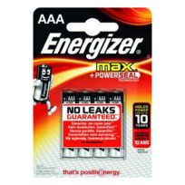Energizer - Blister 4 piles Max Lr03
