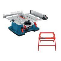 Bosch - SCIE SUR TABLE GTS10XC 2100W + PIETEMENT GTA6000 0615990EM9