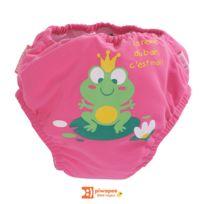PIWAPEE - Maillot de bain couche rainette 4-8 kg