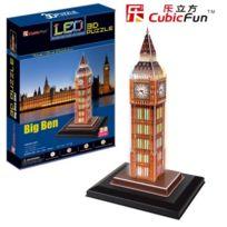 Cubicfun - Puzzle 28 PiÈCES - Puzzle 3D Avec Led - Big Ben Da-20501