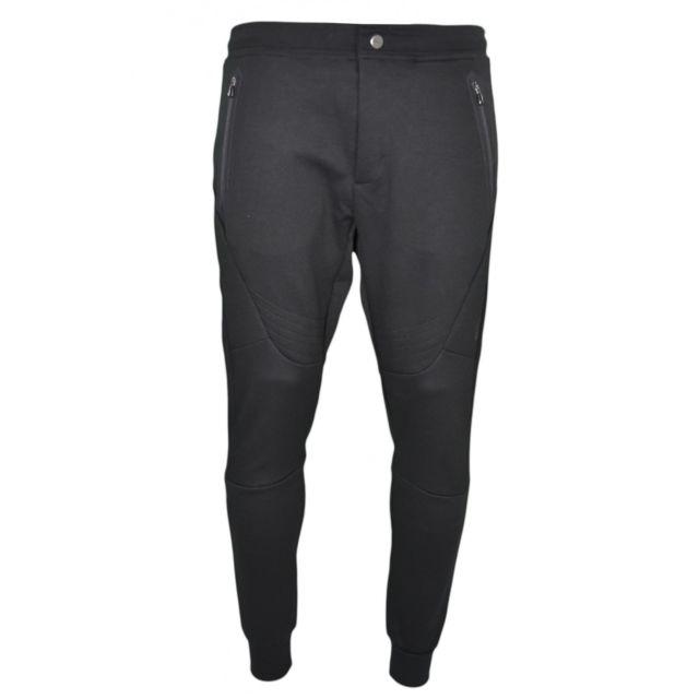 d369a0cf052e61 Ralph Lauren - Pantalon de jogging noir pour homme - pas cher Achat ...