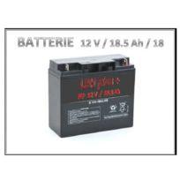 LBH - Batterie 12V rechargeable stationnaire 18.5 Ah 181x77x167