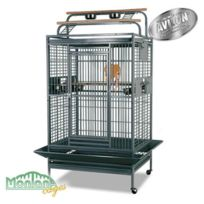 Montana - Cage Hacienda Play pour Perroquets Anthracite