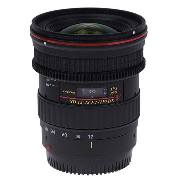 Tokina Objectif At-x12-28mm Pro Dx V C/EF