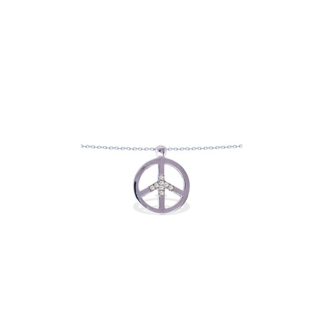 collier peace homme