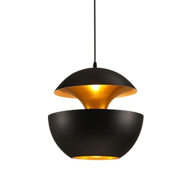 Lampe suspendue Luminaire Salon Moderne Style Minimaliste Chambre De Chevet Restaurant Bar Personnalité Créative Mode Tête Simple Apple Petit Lustre