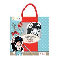 Avenue Mandarine - Kit Créatif Poupée en tissu à peindre - Edith