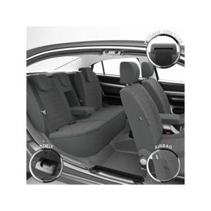 dbs housse auto sur mesure pour renault clio 4 pas cher achat vente housses de si ge. Black Bedroom Furniture Sets. Home Design Ideas