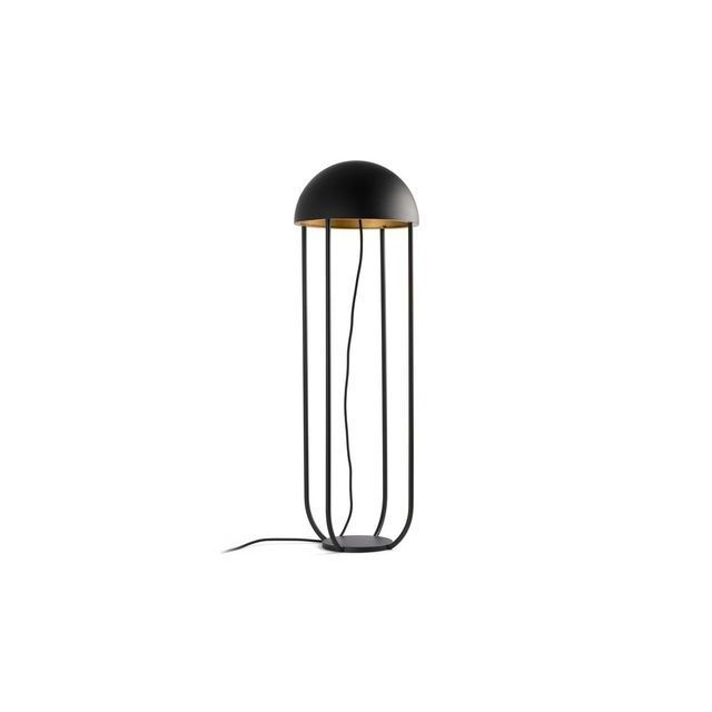 Faro Lampadaire Interieur Noir Or Jellyfish Led 6w 24521