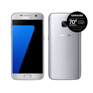 samsung galaxy s7 silver pas cher achat vente smartphone classique android rueducommerce. Black Bedroom Furniture Sets. Home Design Ideas
