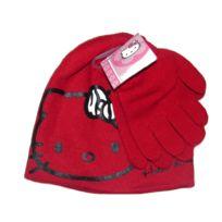 cec3a19cf1c Marque Generique - Bonnet Gants Hello Kitty Rouge Taille 52 Disney enfant