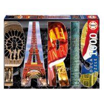 Educa - Puzzle 1000 pièces : Collage de Paris