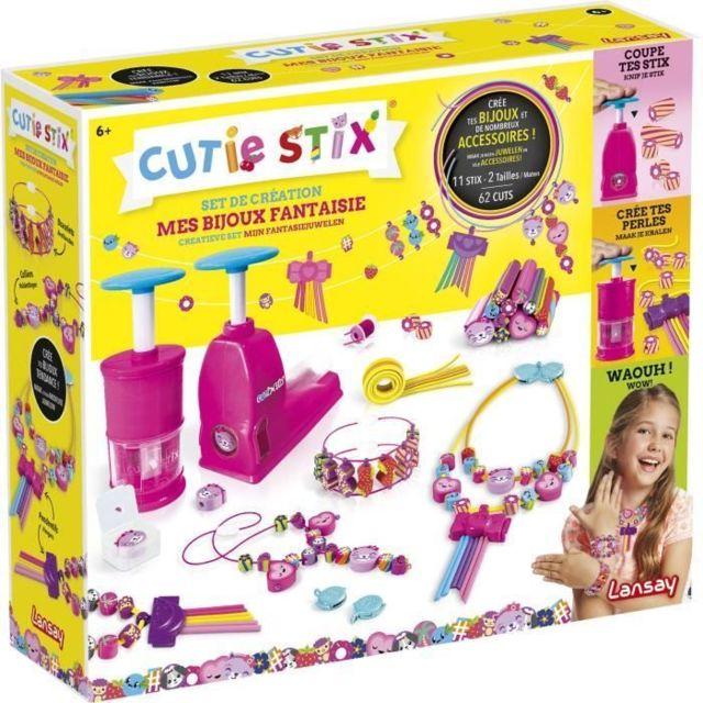 JEU DE CREATION DE BIJOUX Set de création bijoux fantaisie Cutie Stix - Fille - a partir de 6 ans