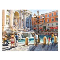 Castorland - Puzzle 3000 pièces : La fontaine de Trevi, Rome