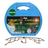 Pro Plus - ProPlus Proplus 1 Paire de Chaînes à Neige 12 mm Kn100