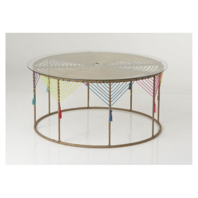 HELLIN TABLE BASSE RONDE KAHLO
