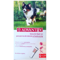 Bayer - Pack 3 X Advantix 4 Pipettes Chiens De 10 À 25 Kg