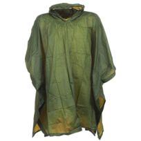 Highlander - Poncho cape de pluie Pvc poncho olive Noir 41594
