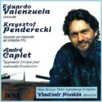 Dom - Penderecki - Concerto pour Violoncelle & Orchestre n2 / Caplet - Epiphanie