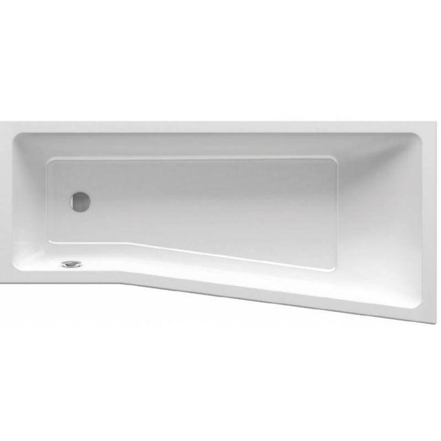 ravak baignoire douche asym trique gain de place behappy ii 150 160 170 160 gauche avec. Black Bedroom Furniture Sets. Home Design Ideas