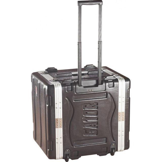 Gator - flight case rack 19'' 6 unités à roulettes - Grr6L