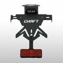 Chaft - support de plaque universel réglable pour moto Yamaha Xmax Tmax R1 Xj6 Fz6 Fz8 Fz1 Mt09 Tracer Mt07 Mt 125