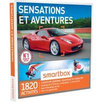 Smartbox - Sensations et aventures - 1820 activités : conduite de Gt Ferrari, Lamborghini, Porsche vol en Ulm, rafting - Coffret Cadeau